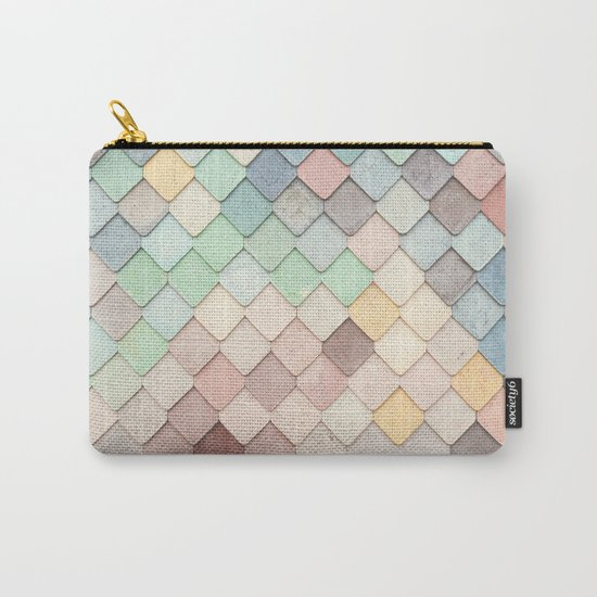 Cute Rainbow Scales Carry-All Pouch