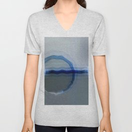 Abstract Composition 240 Unisex V-Neck