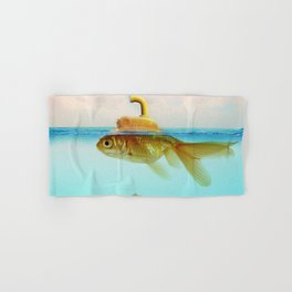 Submarine Goldfish Hand & Bath Towel