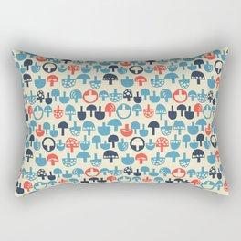 Mushroom Boom Rectangular Pillow