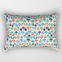 Mushroom Boom Rectangular Pillow