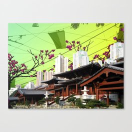 Beautiful China Canvas Print