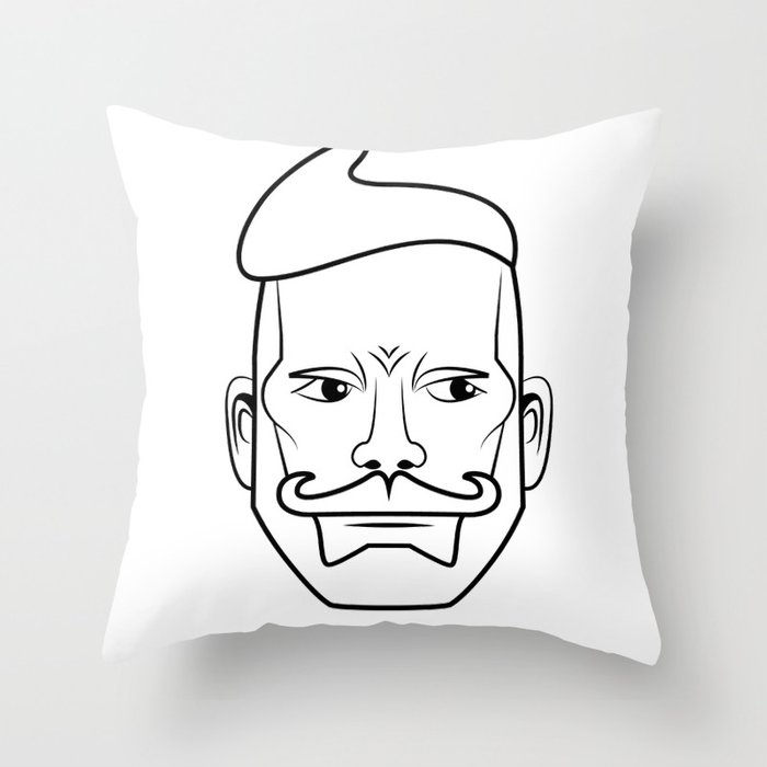Nick Wooster - Colordination Throw Pillow