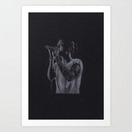 Harry Styles (Team Bun) Art Print