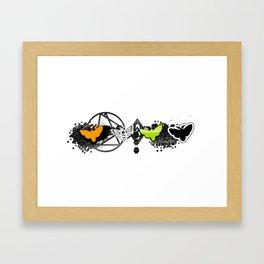Hallow Fly Framed Art Print