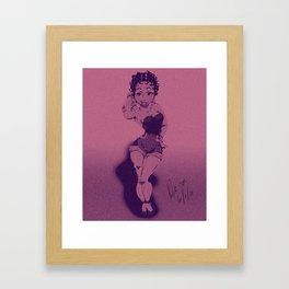 Boop Boop Be Doop Framed Art Print
