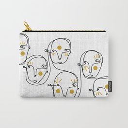 Mellow faces Carry-All Pouch