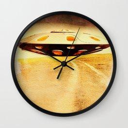 UFO Hill Wall Clock