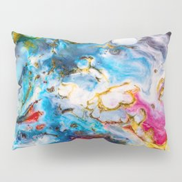 Abstract Melt VII Pillow Sham