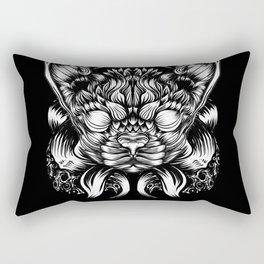 Cat or dog? Rectangular Pillow