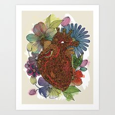 Heart Happy Art Print