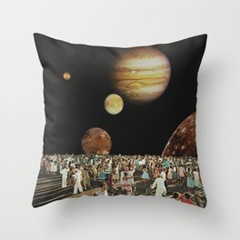 Planetarium  Throw Pillow