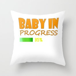 Be proud and tell the world that you are gonna be a family soon with this cool and fabulous tee! Throw Pillow