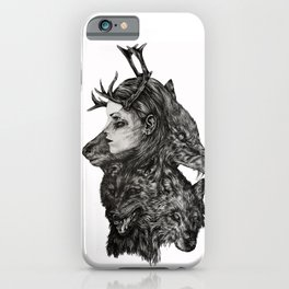 Daughter of the Woods iPhone Case