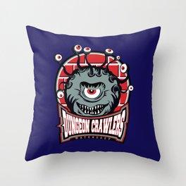 Waterdeep Dungeon Crawlers Throw Pillow