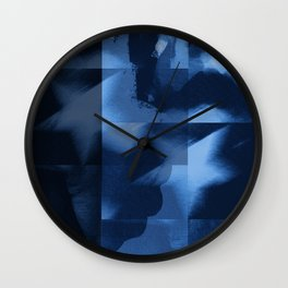 commie blue Wall Clock