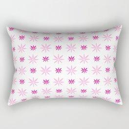 stars 94- pink Rectangular Pillow