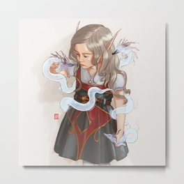 Bloodelf Metal Print