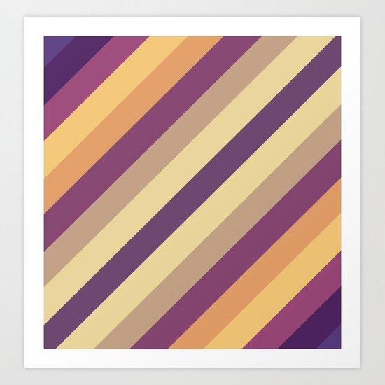 Colorful Lines Art Print