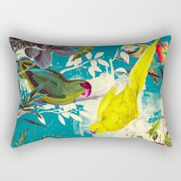 Tropical birds in the nature - 010 Rectangular Pillow