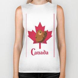 Oh Canada Biker Tank