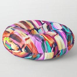 Neon Sugarcane Dark Floor Pillow