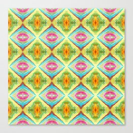 94 - colour abstract pattern Canvas Print