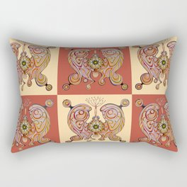 imperial butterfly Rectangular Pillow