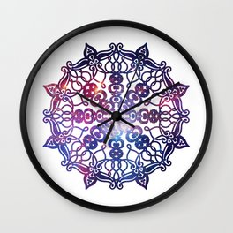 HUNGARIAN PALMETTE - Rising mandala Wall Clock