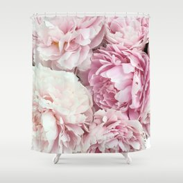 A bunch of peonies Shower Curtain