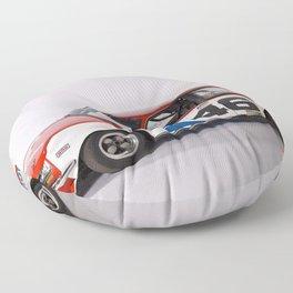 BRE Racing 510 Vintage JDM SCCA Championship Classic Automobile Floor Pillow