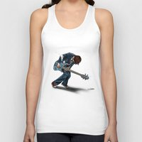 doctor Tank Tops featuring Doctor?? by Onebluebird