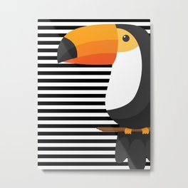TOUCAN tropical toucans Metal Print
