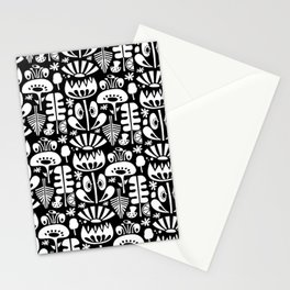 MCM Scandi Flowers White Stationery Cards