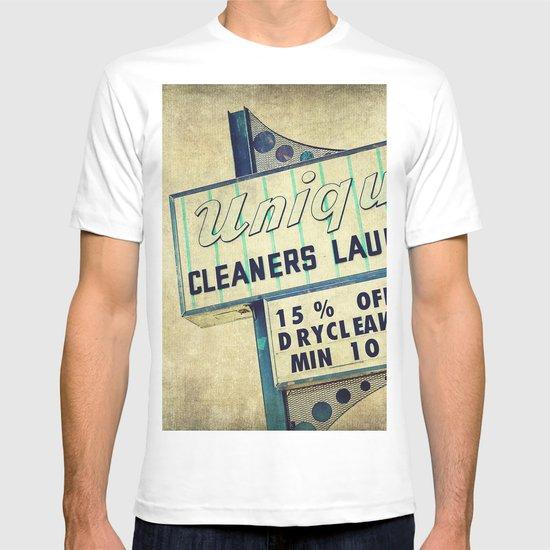 Unique Laundry Sign T-shirt