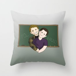 Pol y Bruno Throw Pillow