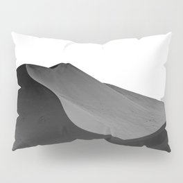 dunes(Black and white) Pillow Sham