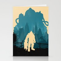 bioshock Stationery Cards featuring Bioshock 2 by Bill Pyle