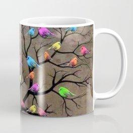 Colorful birds Coffee Mug