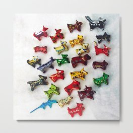 Critters Metal Print