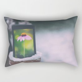 Digital spring Rectangular Pillow