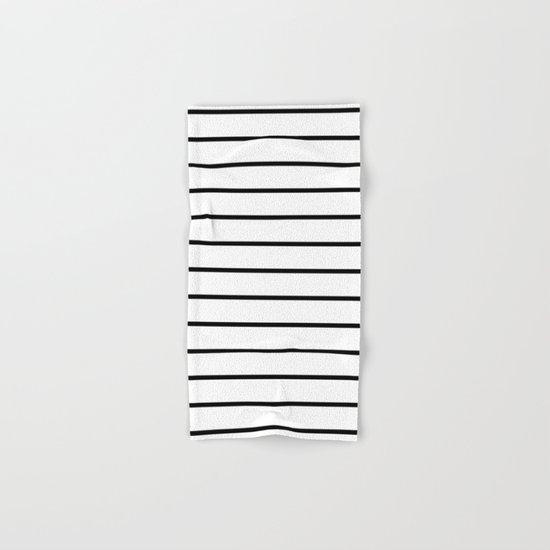 Minimalist Stripes Hand & Bath Towel