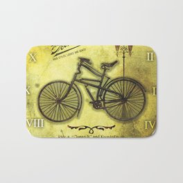 Old Byciclete Bath Mat