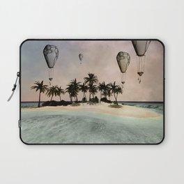 Wonderful tropical island  Laptop Sleeve