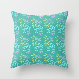 Floral lovee Throw Pillow
