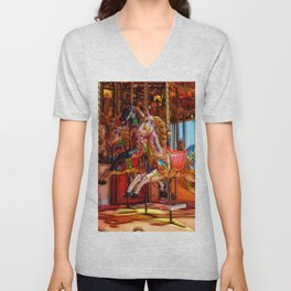 Have a ride on the merry-go-round Unisex V-Neck