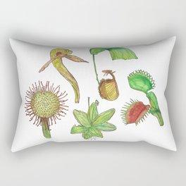 Carnivorous Plant Collection Rectangular Pillow