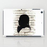 mozart iPad Cases featuring Mozart - Dies Irae by viva la revolucion
