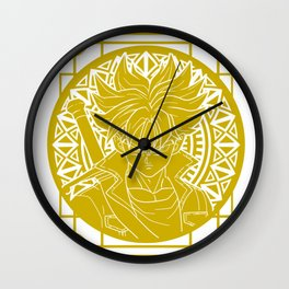Stained Glass - Dragonball - Mirai Trunk Wall Clock