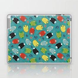 ALOHA Fishes Laptop & iPad Skin